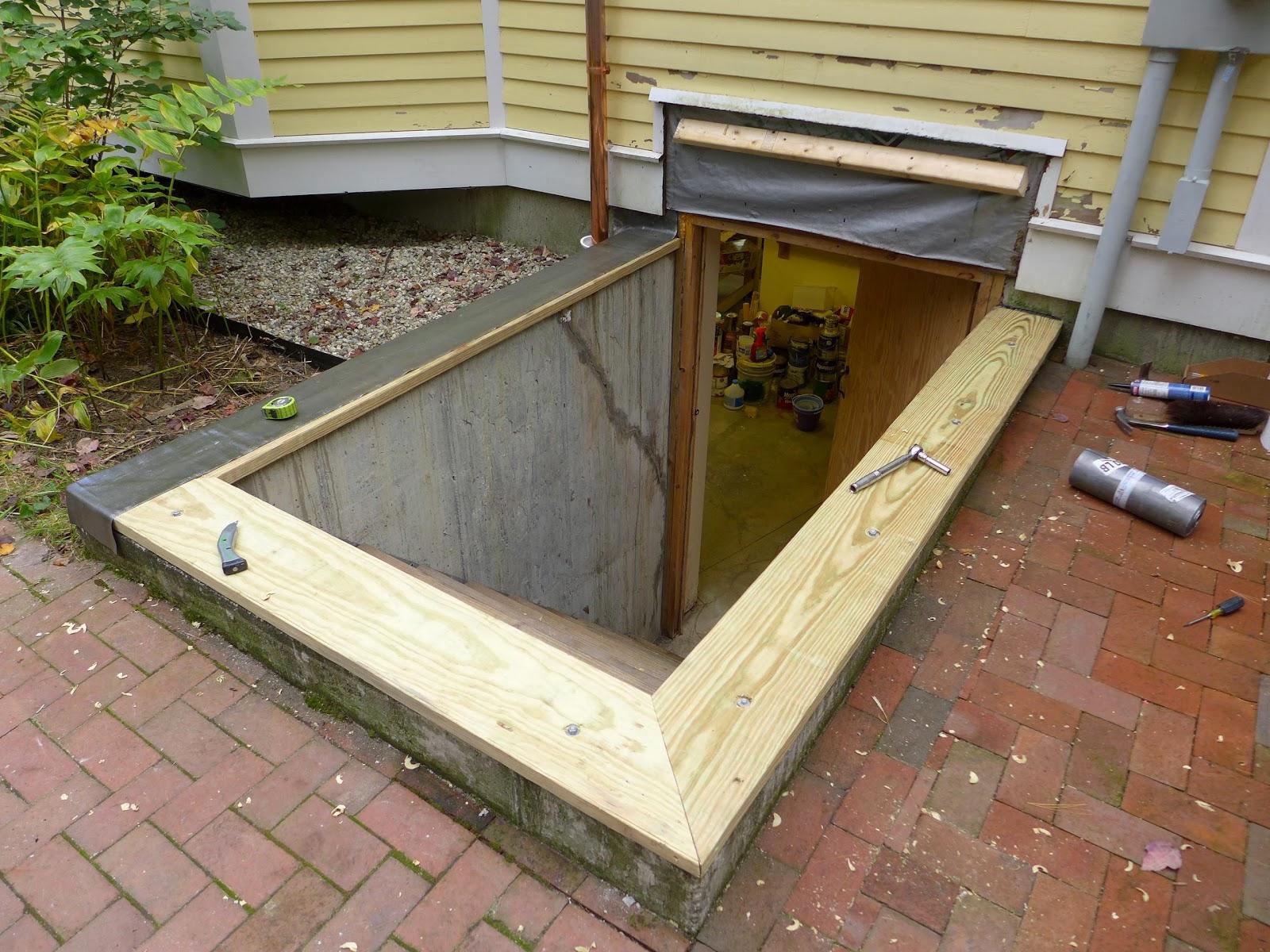 Bilco Bulkhead Doors. Nails And Sawdust: Rebuilding An Old