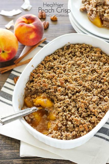 healthier peach crisp recipe