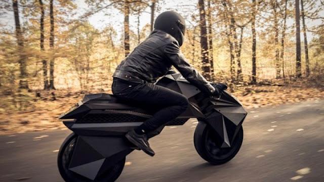 Η πρώτη ηλεκτροκίνητη μοτοσικλέτα από τρισδιάστατο εκτυπωτή