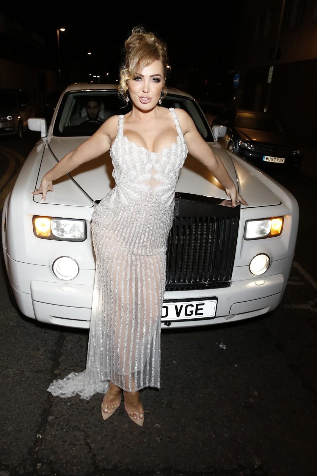 Aisleyne Horgan-Wallace at her 40th Birthday Party at Tarshish - London