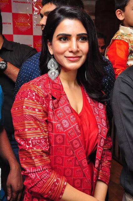 Samantha Bahaar Cafe Opening Stills