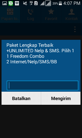 Cara Cek Kuota Indosat lewat Dial Pad