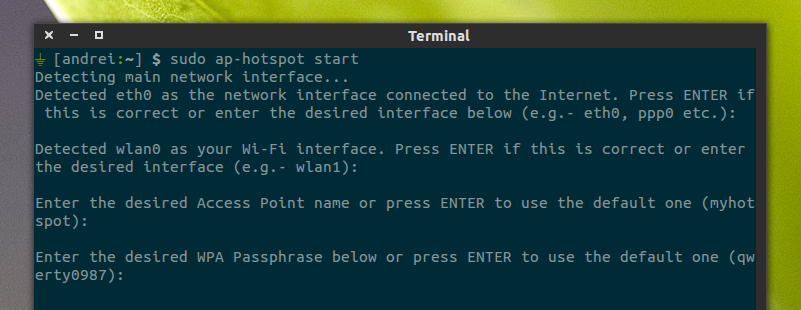 How To Set Up A Wireless Hotspot (Access Point Mode) That Supports
