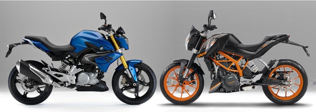bmw g310r vs duke 390 comparison review. Black Bedroom Furniture Sets. Home Design Ideas