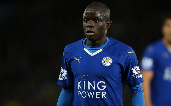 N'Golo Kante joins Chelsea on five year deal