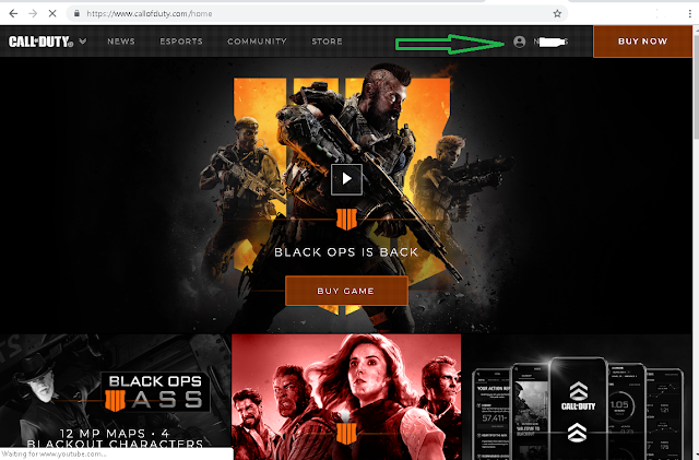 Call of Duty Accounts Username and Password 2018