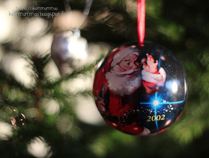 joulu joulukoriste joulupallo joulupukki
