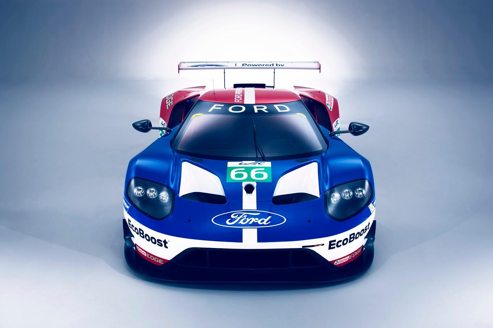 FordGT 2016 WEC head on%2B%25281%2529 Η Ford με το GT Race Car επιστρέφει στους αγώνες αντοχής και μας παρουσιάζει τους οδηγούς της Ford, Ford GT, World Endurance Championship