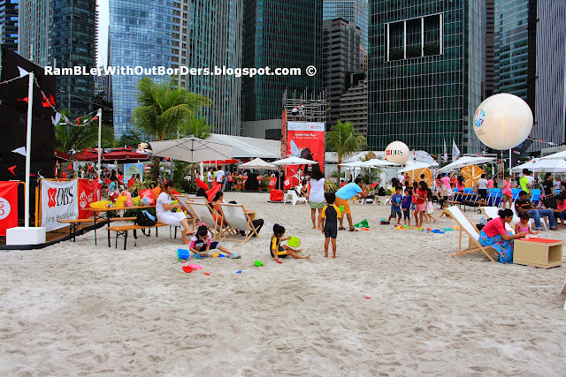 Urban Beach, DBS Marina Regatta 2015, Singapore