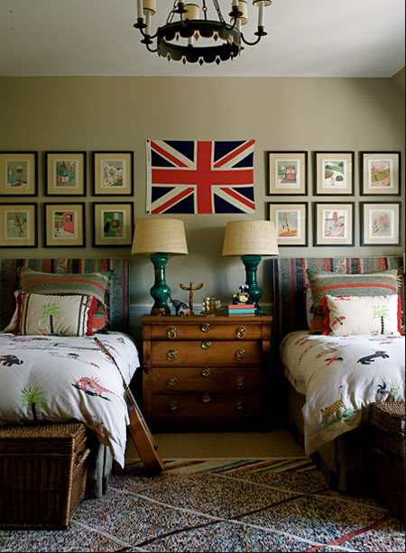 Twin Boys Bedroom Ideas: Roses And Rust: Bedrooms For Boys