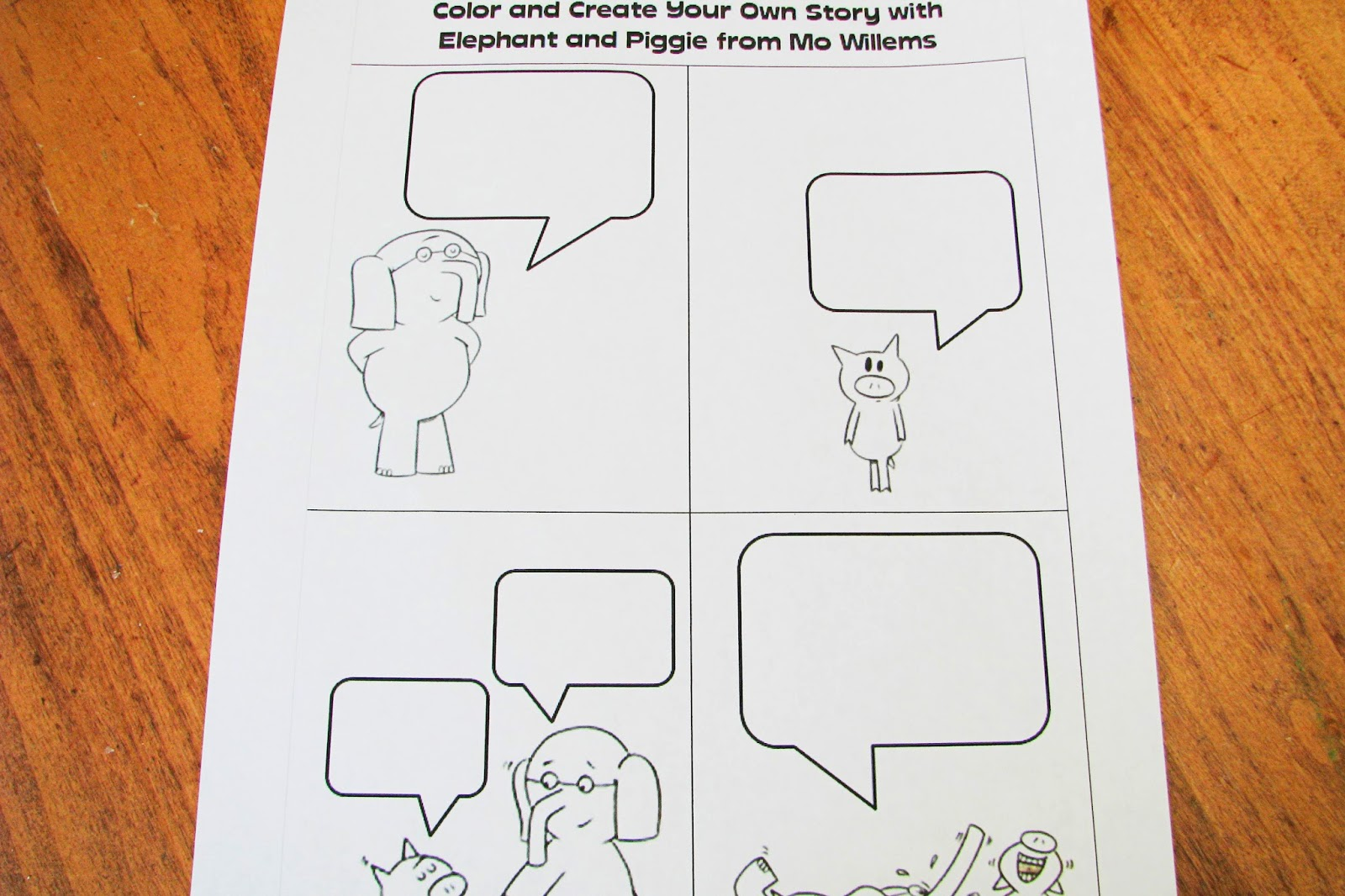 Mommy S Little Helper Elephant And Piggie Preschool Theme
