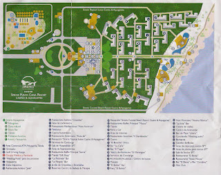Plano Hotel Sirenis Punta Cana, vuelta al mundo, round the world, mundoporlibre.com