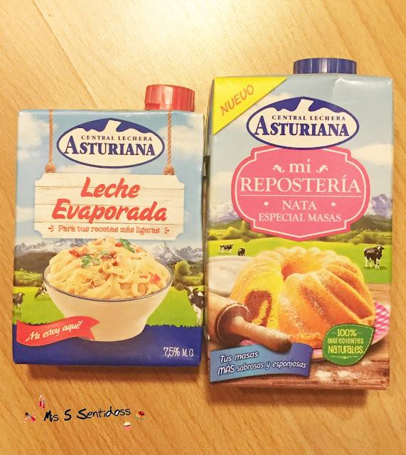 Central Lechera Asturiana Nata especial respostería y leche evaporada
