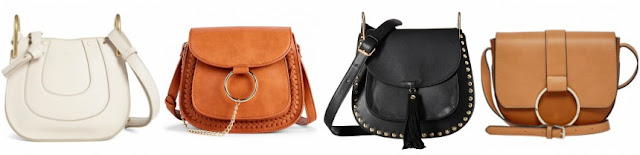 One of these saddle bags is from Chloe for $990 and the other three are under $78. Can you guess which one is the designer bag?