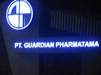 Informasi Lowongan Kerja PT. Guardian Pharmatama