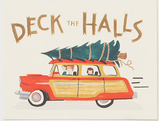 Deck The Halls Card from Terrain