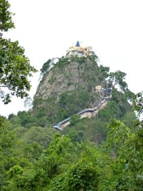 Monte Popa Myanmar - guía de viaje de Myanmar