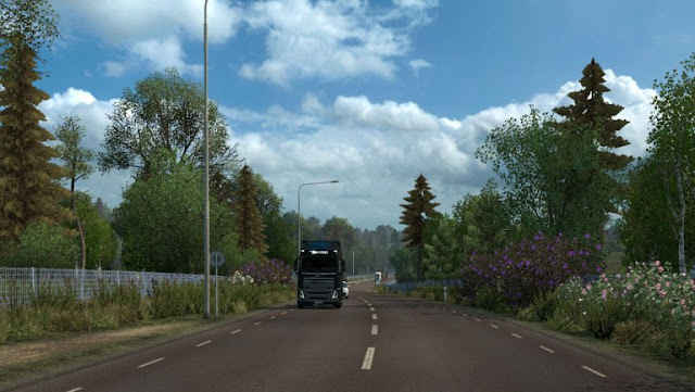 ets 2 spring weather mod v3.1 screenshots 1