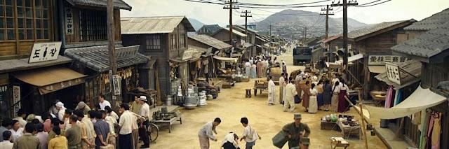 Mercado Gukjae de Busan tras la Guerra de Corea