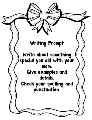 Classroom Freebies Too: Mother's Day Writing Prompts