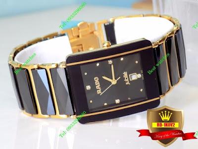 Đồng hồ đeo tay cao cấp góp phần tôn lên vẻ sang trọng cho quý ông