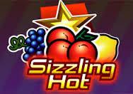 sizzling hot, sizzling, slizing hot