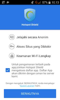 Cara membuka situs yang di blokir menggunakan Android
