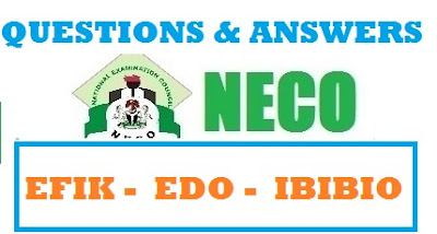 NECO Edo Questions and Answers 2017 | OBJ/THEORY EXPO RUNZ