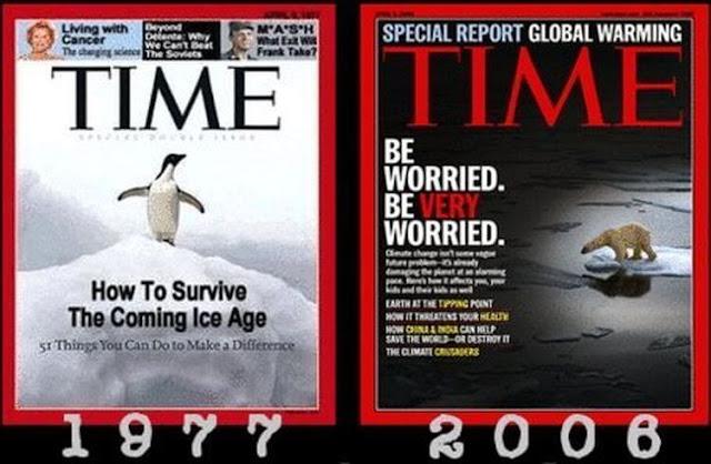 Informasi Global Warming: Global cooling di majalah times 1977