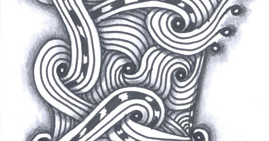 New book in the autumn, and zentangles