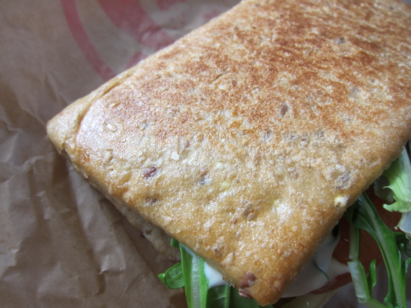 Review wendy 39 s asiago ranch flatbread sandwich brand for Does wendy s have a fish sandwich