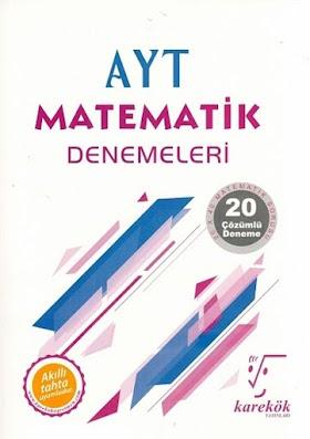 Karekök 20 AYT Matematik Deneme PDF