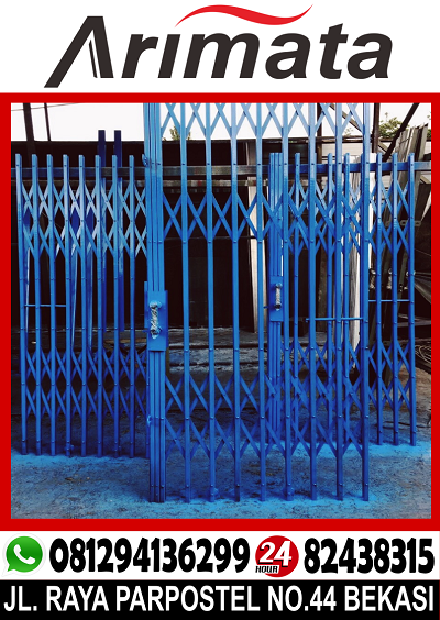 gambar pintu folding gate