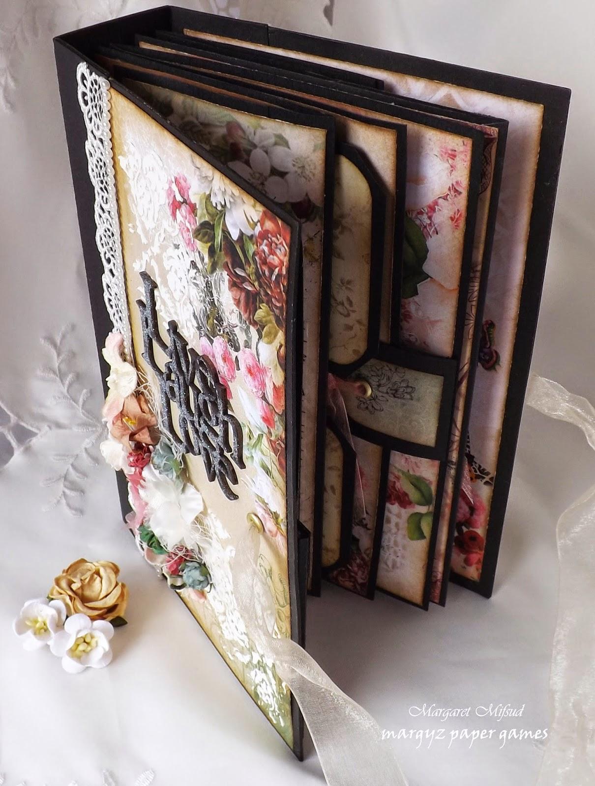 Margyz Paper Games The French Garden Book for Megs Garden