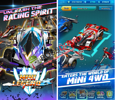 Download Game Mini Legend - Mini 4WD PVP Mod Apk