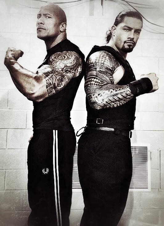 roman reigns gym images