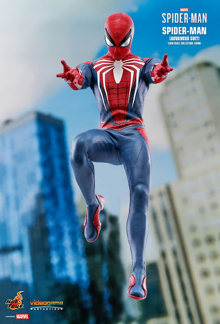 Hot Toys 1/6th scale video game Marvel's Spider-Man (Advance Suit) 12-inch Collectible Figure