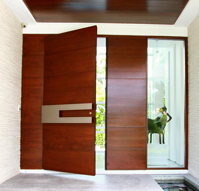 50 Foto Desain Kusen Pintu Modern Terbaik
