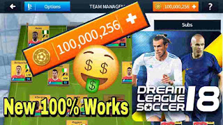 Tải game Dream League Soccer 2018 mod miễn phí