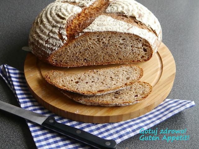 Chleb pszenny razowy wieloziarnisty wg Hamelmana - Czytaj więcej »