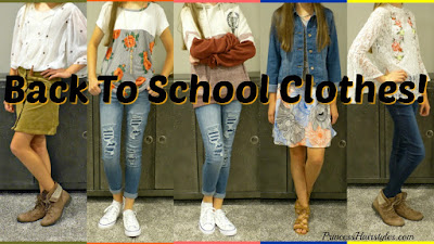 Cute back to school clothes video. Dress code friendly. High School.