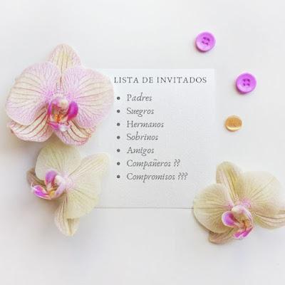 Lista de invitados