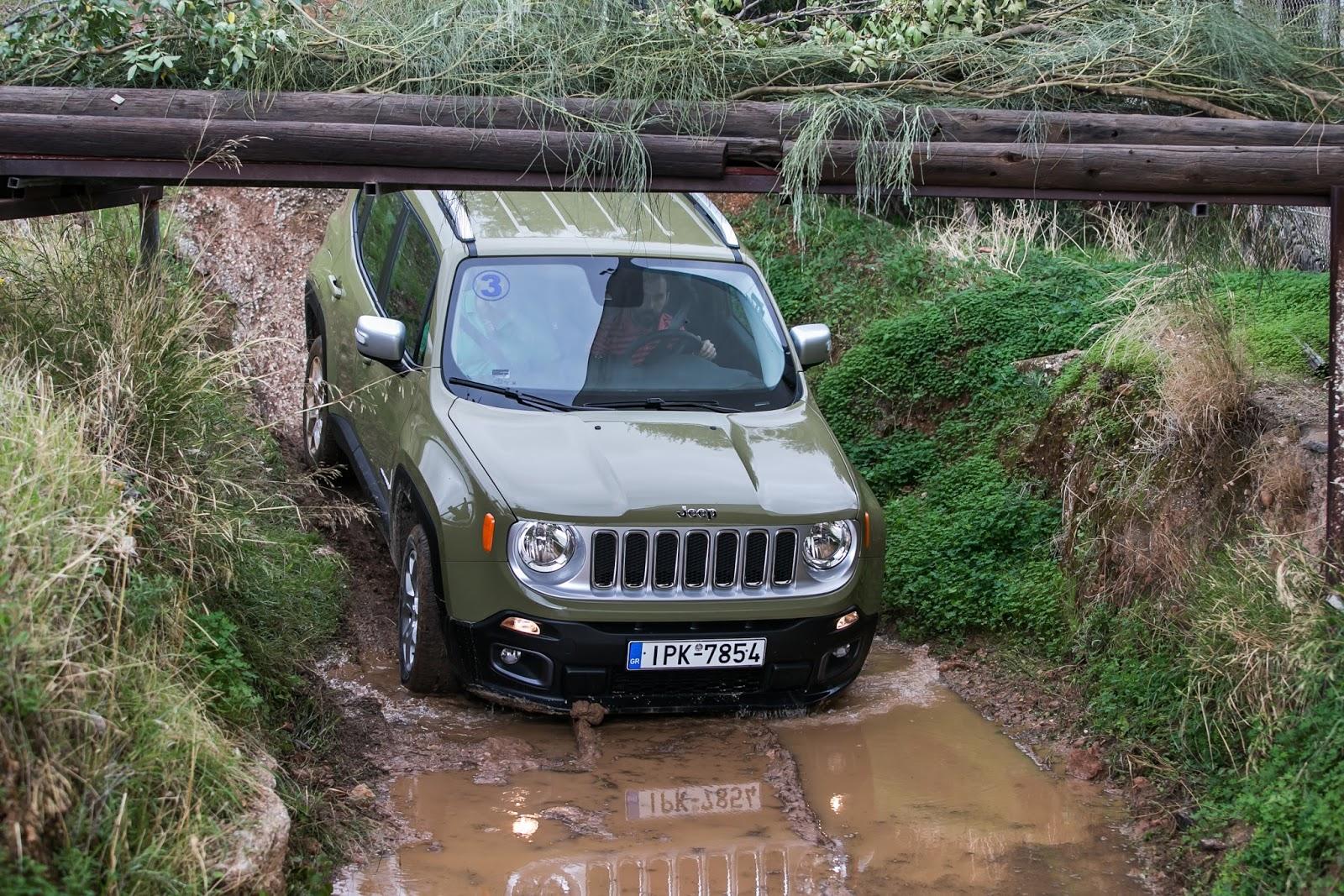 KF 1539 Πετάμε ένα Jeep Renegade σε λάσπες, πέτρες, άμμο, λίμνες. Θα τα καταφέρει; Jeep, Jeep Renegade, Renegade, SUV, TEST, zblog, ΔΟΚΙΜΕΣ