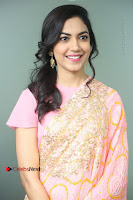 Actress Ritu Varma Pos in Beautiful Pink Anarkali Dress at at Keshava Movie Interview .COM 0130.JPG