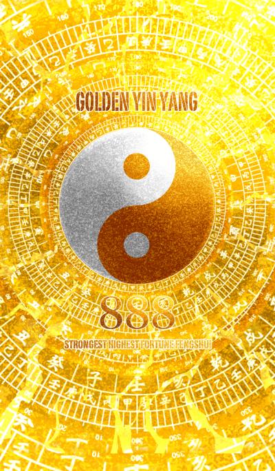 Golden Yin Yang 8