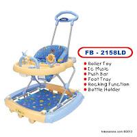 Family FB2158LD 3 in One Baby Walker