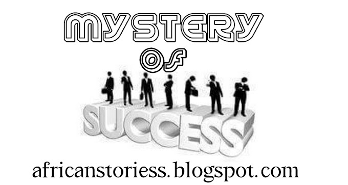 MYSTERY OF SUCCESS (part 1)
