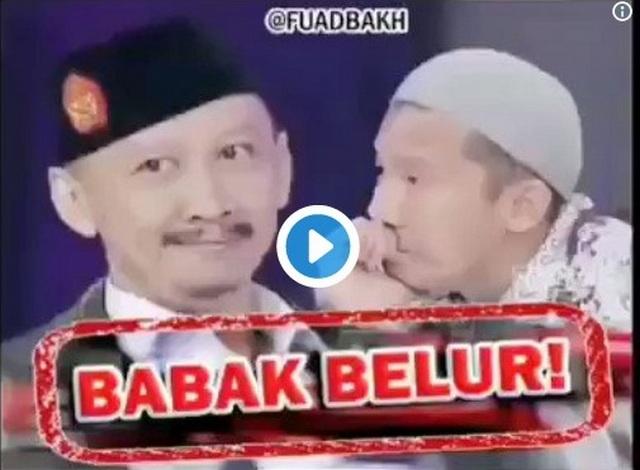 Viral di Sosmed Video Edited Penampilan Abu Janda di ILC Yang Bikin Ngakak Abis