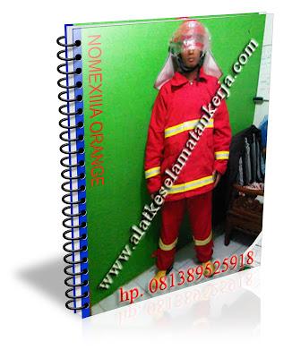 Baju pemadam Kebakaran NomexIIIA complete Orange