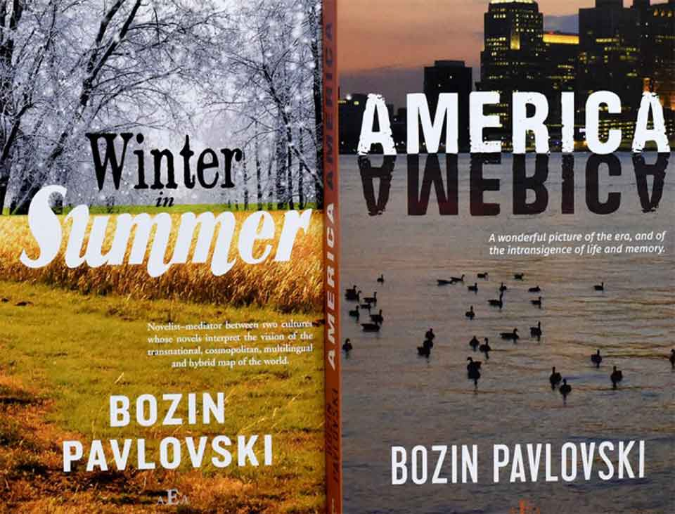 Two Novels by Bozin Pavlovski Released in English